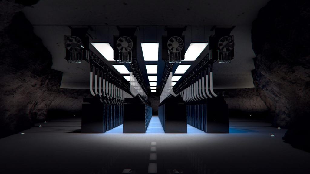 Server Room © Eric Schockmel